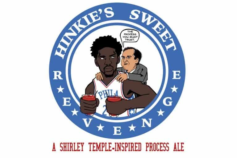 """HINKIES SWEET REVENGE""- A BEER INSPIRED BY JOEL EMBIID'S LOVE FOR SHIRLEY TEMPLES"