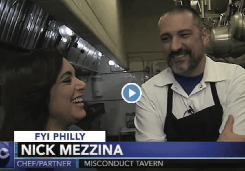 Chef Nick Mezzina